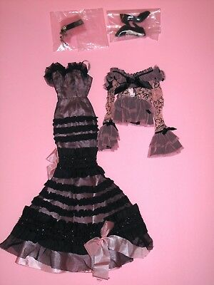 """Tonner Wilde - Haunted Melody 17"""" Vinyl Evangeline Ghastly Fashion Doll OUTFIT"""