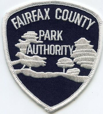 FAIRFAX COUNTY VIRGINIA VA PARK AUTHORITY police PATCH