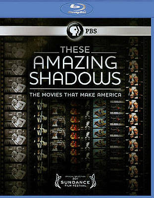 These Amazing Shadows (Blu-ray Disc, 2011)  National Film Registry  NEW PBS