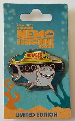 Disney Finding Nemo Submarine Voyage Collector Set Bruce Voyager Pin Le