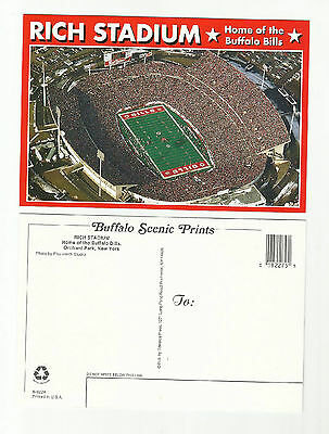 Lot Of 5- 1990's Rich Stadium Post Card-Buffalo Bills-Orchard Park, NY