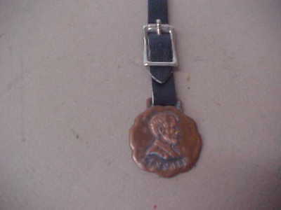 Vintage Lincoln Life Insurance Watch Fob  Ft/ Wayne, Indiana