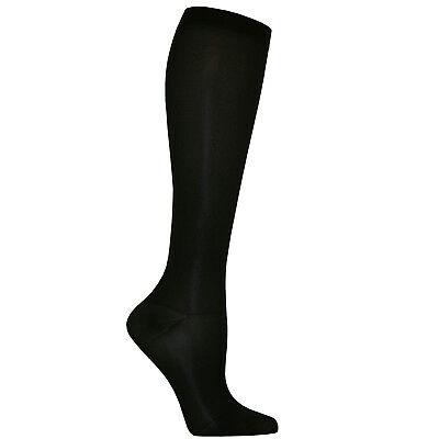 Dr. Scholl's Women's Graduated Compression  Knee High.  8-15 mmHg.  Black 4-10