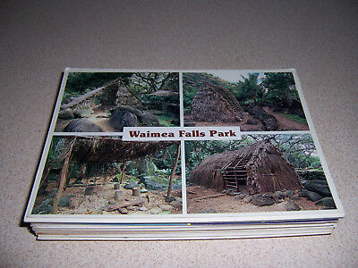 1970s-90s VTG HAWAII HI. UNUSED PHOTO POSTCARD LOT of 40 DIFF