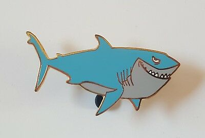Disney Pixar's Finding Nemo 4 Pin Booster Collection Bruce Only Pin