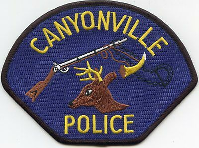 Canyonville Oregon Or Police Patch