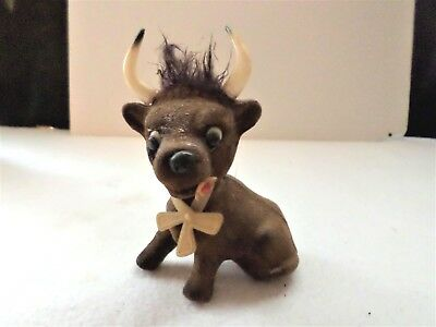 Ferdinand the Bull Flocked Bobble Head or Nodder