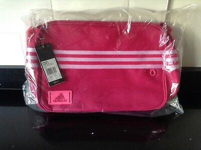 5c73a63706 BNWT ADIDAS WOMENS 3 Stripe Enamel Messenger Bag Ladies - £14.99 ...