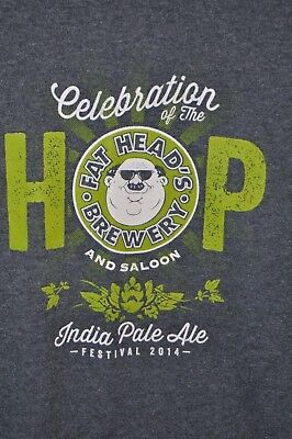 "Fat Head's Brewery ""Celebration of the Hop"" T-Shirt  Brand New, Never Worn 2XL"