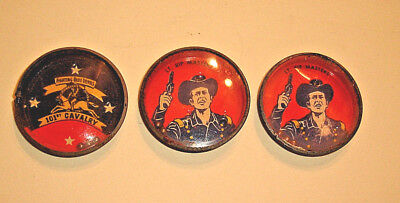 (3) 1950's RIN TIN TIN DEXTERITY GAMES, Lt Rip Masters - Nabisco Shredded Wheat
