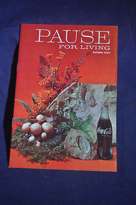 Autumn 1964  Pause for Living Coca Cola Magazine - brochure 24 pages
