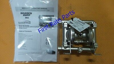 Sandpiper E02B4SYSSNS000 Diaphragm Pump Warren Rupp Blagdon Air Operated Double