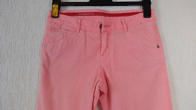 Alberto Alisa Golf Hose 3/4 Hose Slim Fit Gr. 34 in Rosa