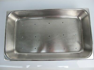 Vollrath 7416-2 Stainless Steel Instrument Tray 16.25x9.75x2.5 Inches
