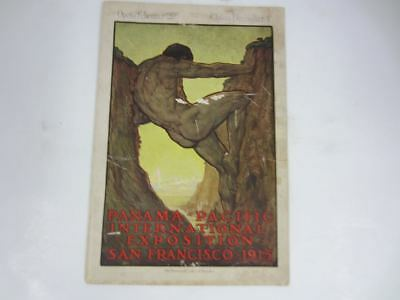 1915 PANAMA PACIFIC International Exposition Program San Francisco Souvenir Book