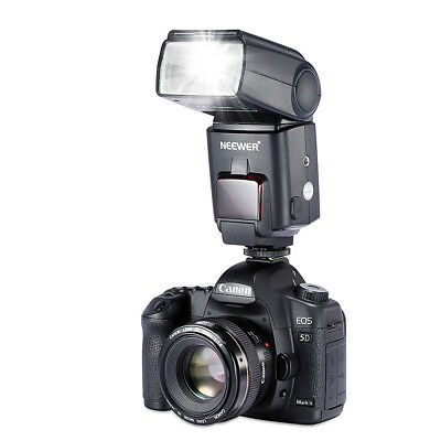 Neewer NW680/TT680 HSS Flash E-TTL - Cámara Flash para  Cámaras DSLR, Negro
