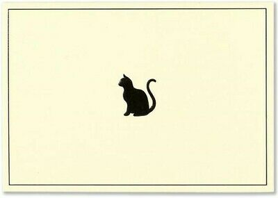 Black Cat Note Cards (Miscellaneous Print)