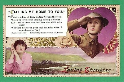 Bamforth Song Cards * Calling Me Home To You * Greeting * Single 118 (-) * E117