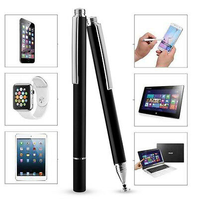 Fine Point Round Thin Tip Capacitive Stylus Pen for iPad 4 3 Air 2 Apple iPhone