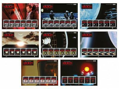 ISLE OF MAN 2018  2001 Space Odyssey film special sheetlets of 10  POSTFR/MNH