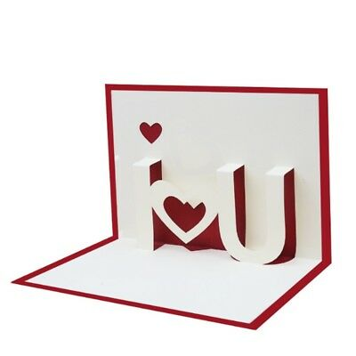 I love you 3d pop up greeting cards happy birthday lover valentines i love you 3d pop up greeting cards happy birthday lover valentines anniversary m4hsunfo