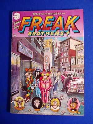 Fabulous Furry Freak Brothers 4. 3rd UK printing. FN-.