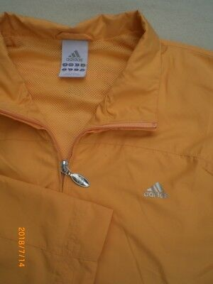 ADIDAS 46 XL Funktionsjacke Trainingsjacke Windjacke Fahrradjacke Outdoorjacke