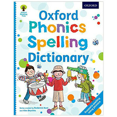 Oxford Phonics Spelling First Illustrated Math Dictionary 2 Books Collection Set