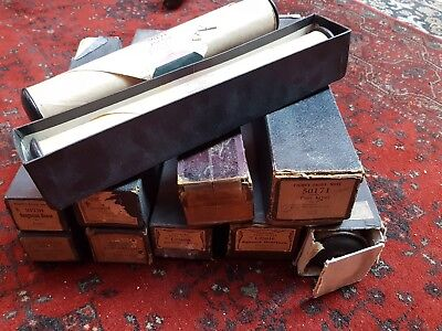 12 x Vintage PIANO ROLLS for Player Pianos Greig Chopin Beethoven Brahms KASTNER