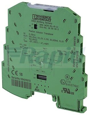 Phoenix Contact 2864095 MINI MCR-SL-R-UI Potiposition Transducer