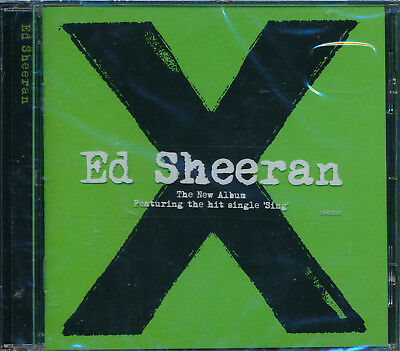 ED SHEERAN X CD NEW One I'm A Mess Nina Photograph The Man
