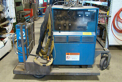 Miller/Air Products Syncrowave 300 AC/DC Tungsten-Arc Welder w. Coolmate 230/460