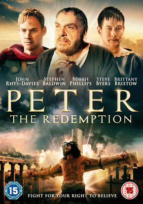 Peter - The Redemption DVD (2016) John Rhys-Davies ***NEW***
