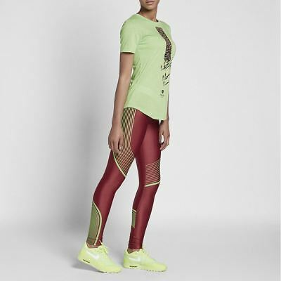 Women's Nike Gyakusou Undercover X Dry Power Speed Tights Team Red Green 856259