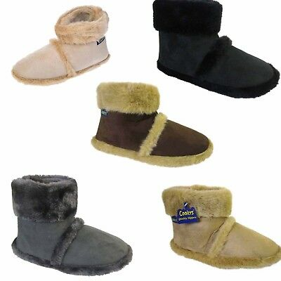 Mens Coolers Famous Booties - Mens Bootie Slippers / Mans Boot Slippers