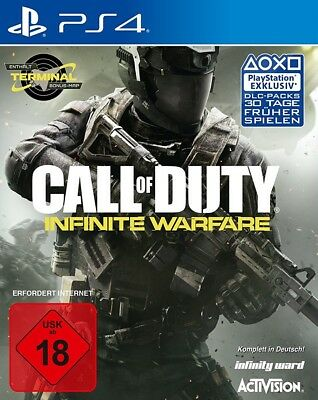 PS4 / Sony Playstation 4 game - Call of Duty: Infinite Warfare EN/GER boxed