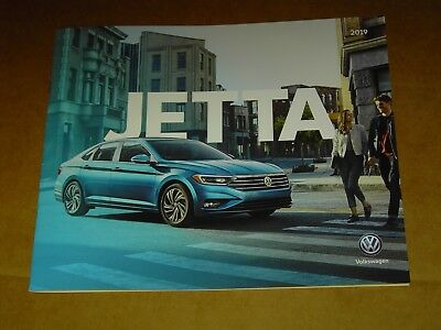 2019 Volkswagen Vw Jetta Brochure Mint! 16 Pages
