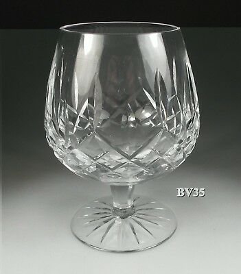"""Waterford Crystal Lismore Brandy Glass 5 1/4"""" - Snifters - Mint"""