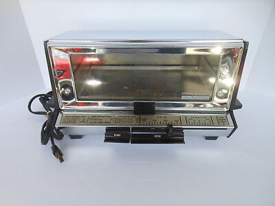 Vintage GE Deluxe Toast-R-Oven 61T93 Great for camper WORKS