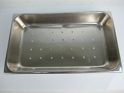 Weck Stainless Steel Instrument Tray 16.25x9.75x2.5 Inches