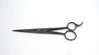 Vintage Solingen Pearl Duck Dubl Duck Forged Carbon Steel Barber Scissors