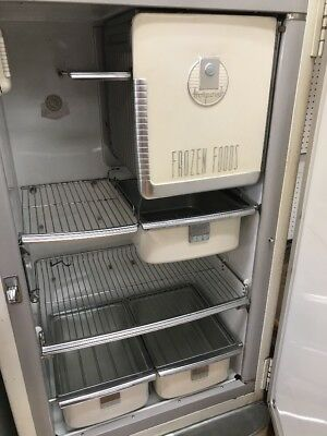 vintage HOTPOINT refrigerator FREEZER very cool GREAT WORKING ORDER