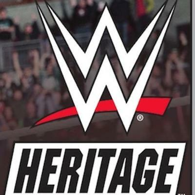 2018 Topps Heritage WWE Wrestling Gold Parallel and Insert Cards Pick From List