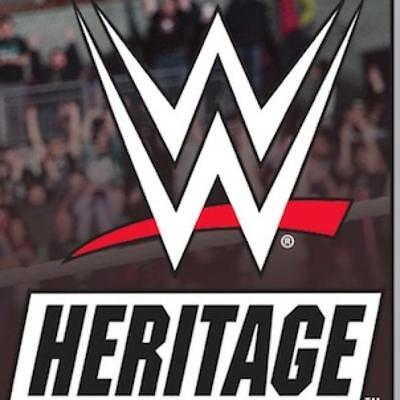 2018 Topps Heritage WWE Wrestling Red Parallel and Insert Cards Pick From List