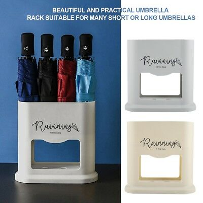 Household Umbrella Rack Drain Stand Storage Holder Bucket with 4 Holes
