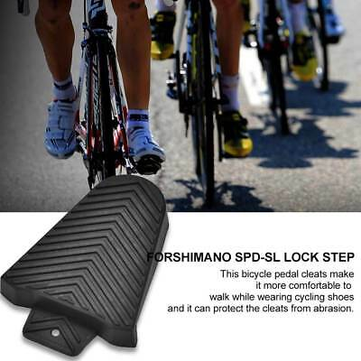 1 Pair SPD-SL Rubber Cleat Covers fits Shimano Road Cleats Bike Pedal Covers