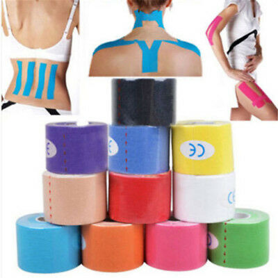 1pc Kinesiology Tape Athletic Muscle Support Sport Physio Therapeutic Tape Tool