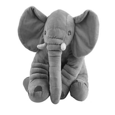 Cute Elephant Cotton Stuffed Animal Cushion Kids Baby Sleeping Soft Pillow Toy
