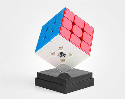 Moyu Weilong Speed 3x3x3 GTS 3M  Magic Cube Twist Puzzle Stickerless Solid Color