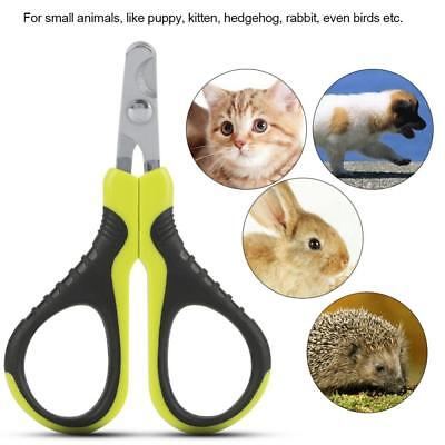 Pet Nail Clippers Professional Cat Puppy Claw Scissor for Small Animals Dog Bird